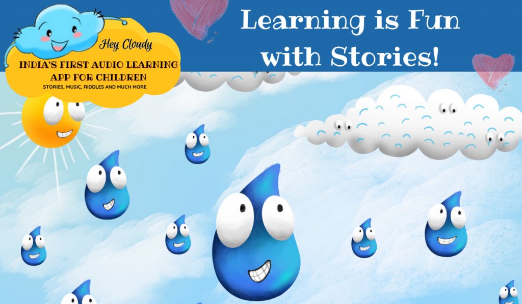 How it rains science story for kids