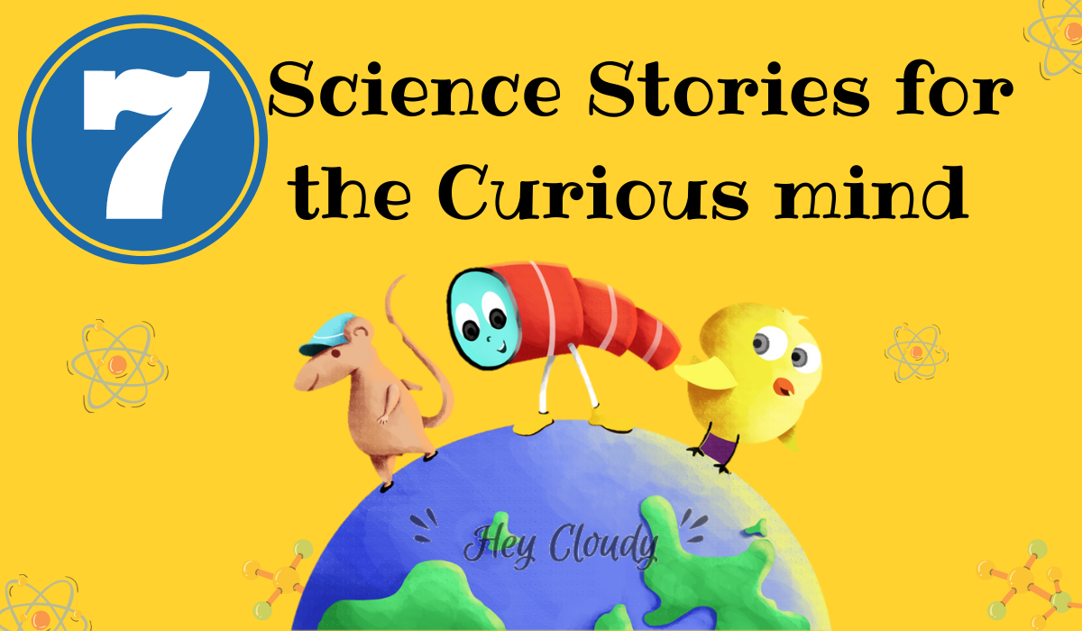 Science stories for kids earth and telescope